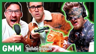 Markiplier puts the controller in our hands as we test out some new homemade video games. GMM #1265.1 Watch Part 2: https://youtu.be/rYciD9ws4SA Watch ...