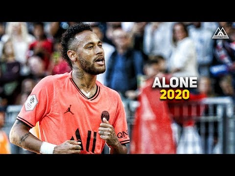 Neymar Jr • Alan Walker - Alone | Skills & Goals 2019/20 | HD