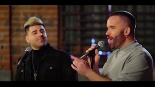 """Brian Justin Crum and Matt Bloyd cover """"Tell Him"""" by Celine Dion and Barbra Streisand"""