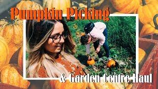 Pumpkin Picking \u0026 Garden Centre Haul