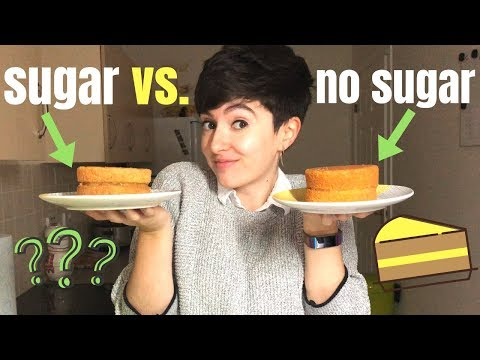 Can You Bake A Cake Without Sugar? (EXPERIMENT!)