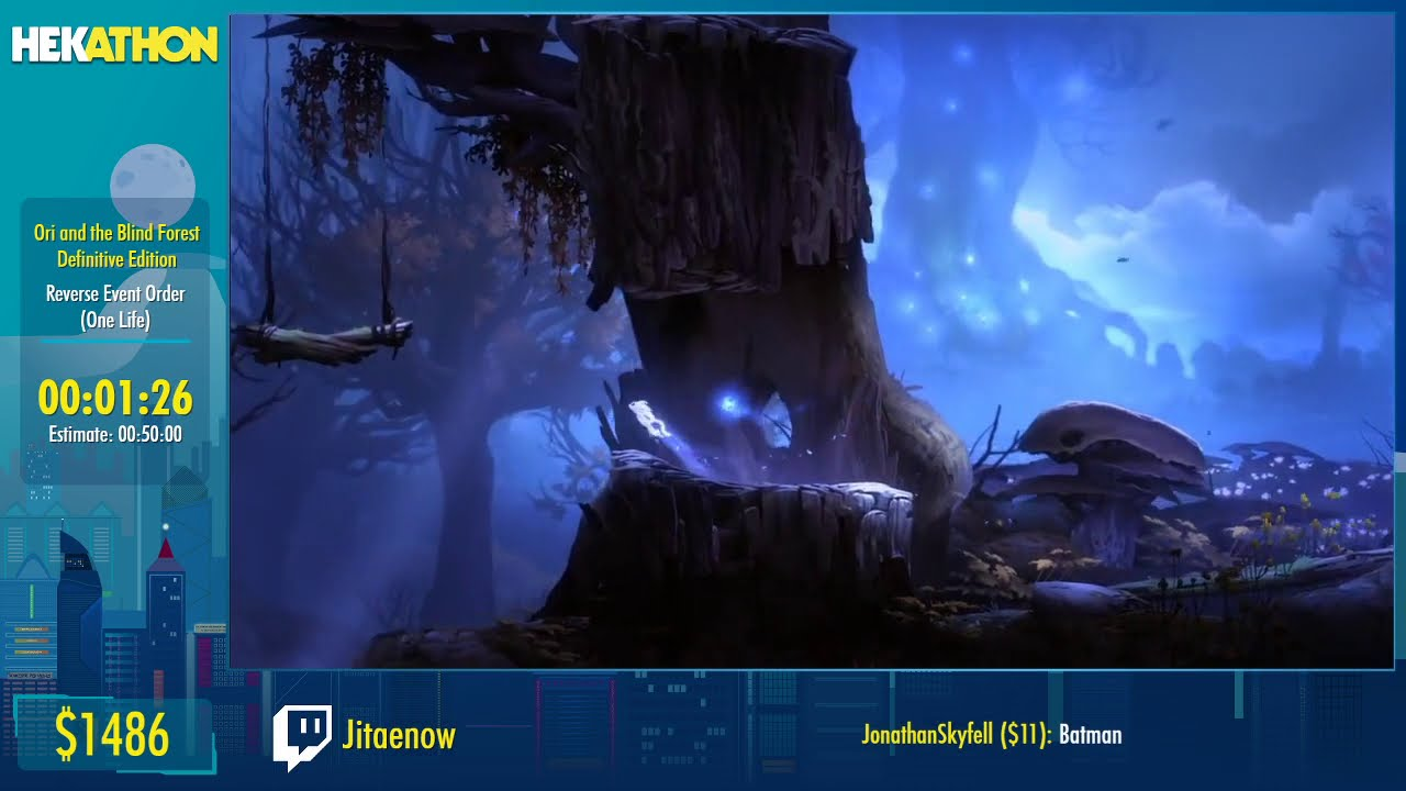 Ori and the Blind Forest Definitive Edition [Reverse Event Order (One Life)] by Jitaenow - #HEK20