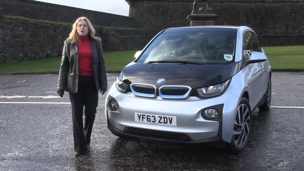 Road Record Bmw I3 Electric Car Youtube