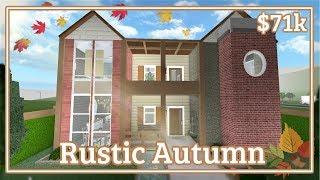 Bloxburg - Rustic Autumn House Speed-build