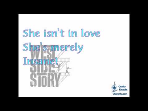 West Side Story - I Feel Pretty (Karaoke Instrumental) w/ Ly