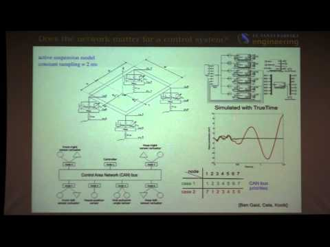 """UTRC CDS Seminar: Joao Hespanha, """"Control systems in ubiquitous computation and communication"""""""