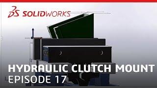Coffee & CAM: Hydraulic Clutch Mount Video #17 - SOLIDWORKS