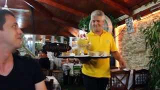 Крит Бали(Отдыхали в Греции. На Крите. Поселок Бали) Таверна. Самый веселый официант и просто хороший человек Даниэль), 2013-05-15T18:23:13.000Z)