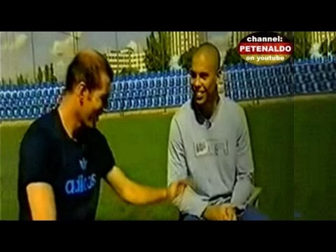 Zidane & Ronaldo talk about each other ‼‼ [HD]