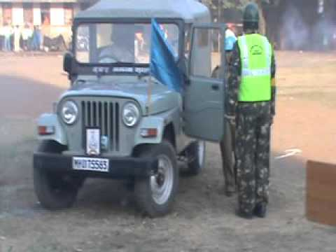 CIVIL DEFENCE DEMO 2015 BY MUMBAI PORT TRUST