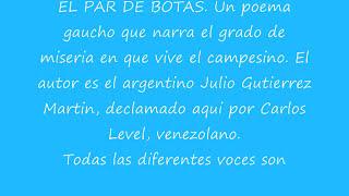 Carlos Level  El par de botas