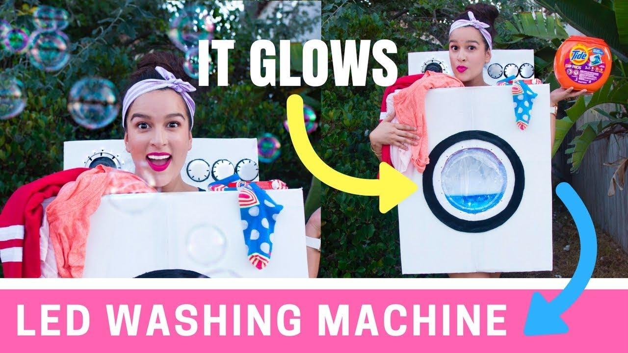 Diy Led Washing Machine Costume Katherine Lauren
