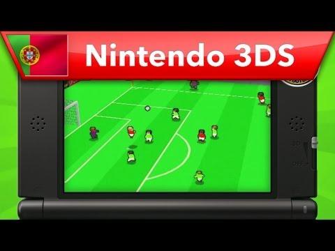 "Nintendo Pocket Football Club - ""Futebol Total"" Nintendo 3DS"