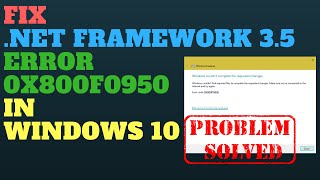 How to fix Windows 10 optional feature error code 0x800f0954