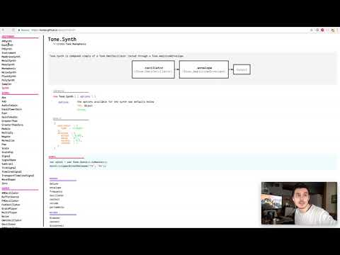 Tone.js & CodePen Part 01 - Making Music with a Web Browser