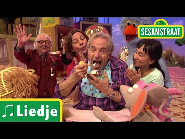 Zeven hapjes tot het toetje - Liedje - Frank - Sesamstraat