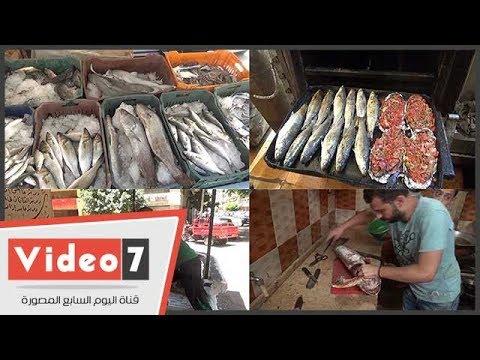 شباب السويس يقضون على البطالة بـ«وجبة سمك»  - 17:21-2018 / 7 / 1