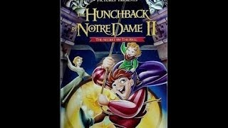 Digitized opening to The Hunchback of Notre Dame II (UK VHS - version 2)