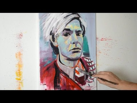 Painting Andy Warhol - Contemporary Modern Pop Art Style