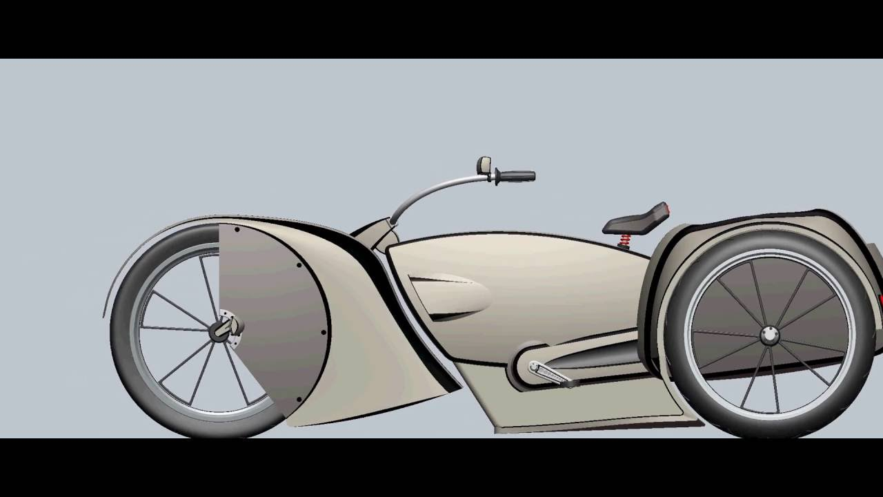 Beach Cruiser Stretched Bicycle Tricycle Concept Layout 4 Youtube Copyright 2006 Bicycledesignercom