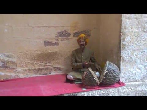 Mehrangarh Royal singer sings #kesariya at Jodhpur Rajasthan