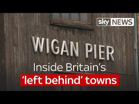 Inside Britain's 'left behind' towns