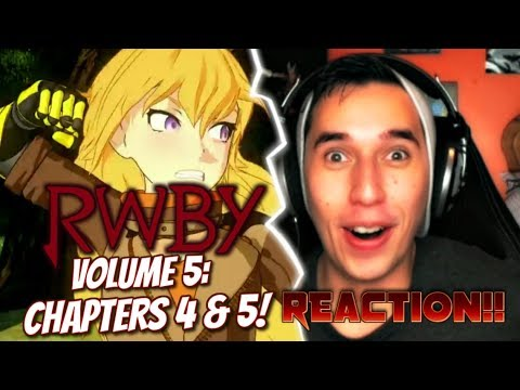 (UNBLOCKED!)THE SCARLET EYED GODDESS!!| LETS WATCH RWBY Volume 5 Chapters 4 & 5 REACTION