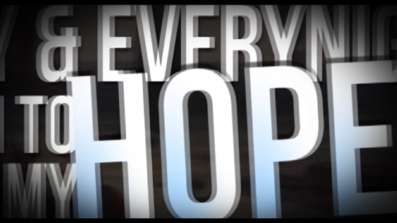 """Download ALPHASE """"My Only Hope Is You"""" Official Lyric Video"""