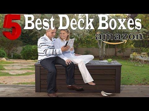 Best Deck Boxes On Amazon | Patio Storage Box