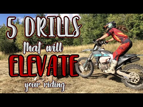 5 Slow Speed Drills That Will Elevate Your Skills On A Dirt Bike!