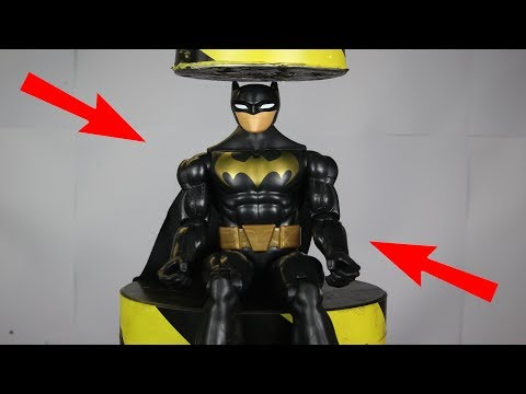 Experiment Hydraulic Press 100 ton VS Batman | The Crusher