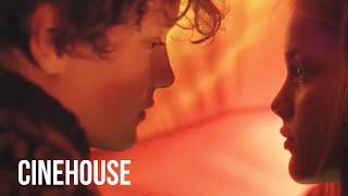 Teens kiss girls in the tent on a romantic camping trip   Award-winning film   Heartstone