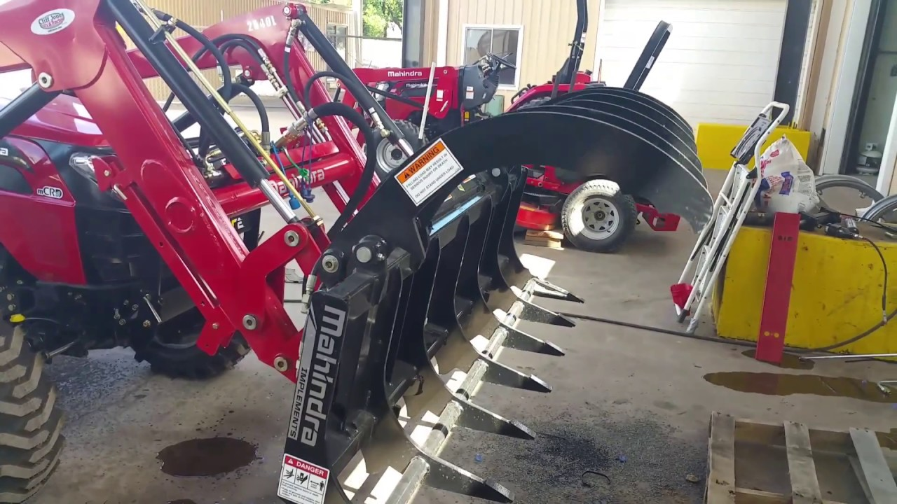 Mahendra root rake with third function kit