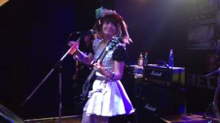 BAND-MAID - Don't Let Me Down (Headcrash/Hamburg) on October 15th 2016