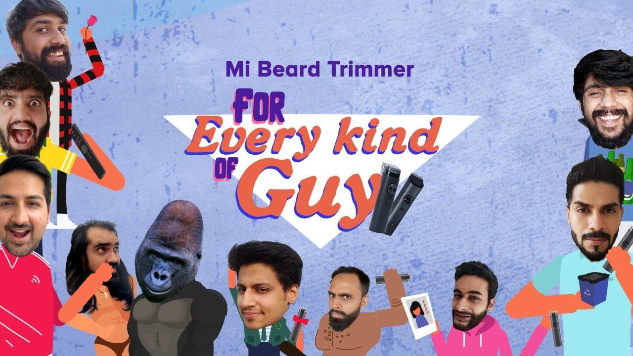Mi Beard Trimmer - For Every Kinda Guy!