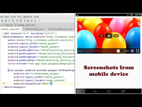 Tutorial How to Play Videos PLAYLIST YouTube using YouTube Android Player API in Android Studio