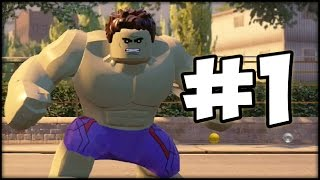 LEGO MARVEL AVENGERS - LBA - Episode 1 : Hulk Jump is Crazy!