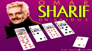 Omar Sharif on Bridge gameplay (PC Game, 1991)