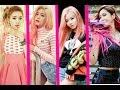Female Kpop Idols Who Rock Pink Hair (2016)
