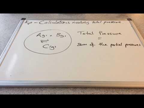 Kp Calculations Involving Total Pressure