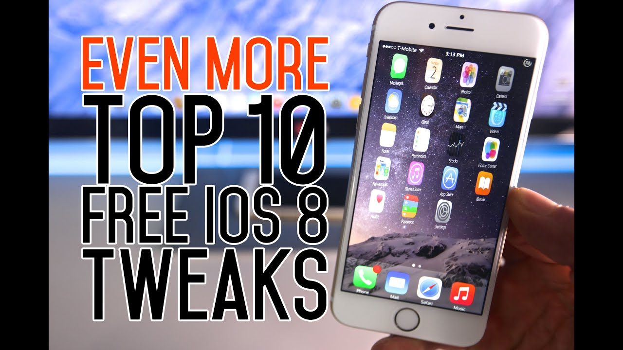 Top 10 FREE iOS 8 Tweaks - After Pangu Jailbreak Compatible
