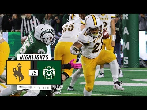Wyoming vs. Colorado State Football Highlights (2018) | Stad