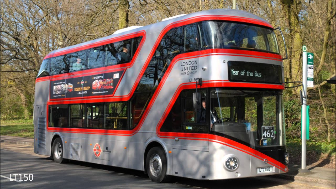 New Buses For London At Bank And Weybridge On 12th Amp 13th