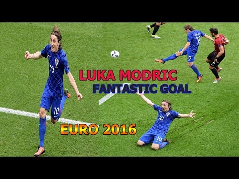 TURKEY vs CROATIA EURO 2016-LUKA MODRIC FANTASTIC GOAL