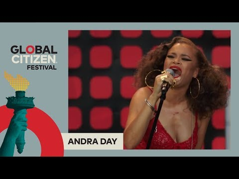Andra Day Performs 'I Want It All' | Global Citizen Festival NYC 2017