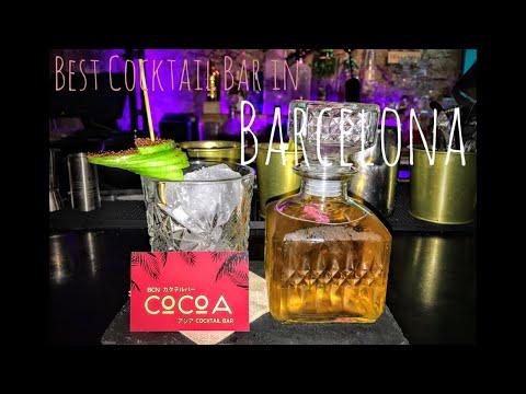 BEST COCKTAIL BAR IN BARCELONA SPAIN | TRAVEL NIGHTLIFE GUIDE LIVE