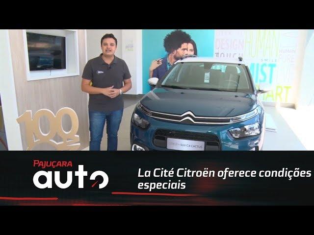 Auto Dica: La Cité Citroën oferece condições especiais para o C4 Cactus