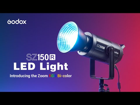 Godox: Introducing the Zoom RGB LED Light SZ150R