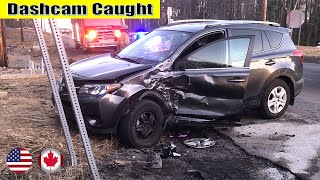Ultimate North American Cars Driving Fails Compilation - 236 [Dash Cam Caught Video]