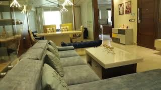 Pushpanjali Enclave New Delhi Interior design Living room design By lakkadworks +91-9999381022
